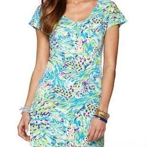Lilly Pulitzer Daniella Dress Sea Soiree XS